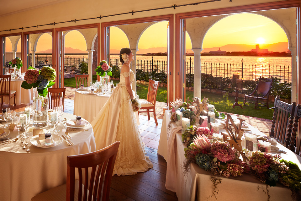 bride-and-sunset